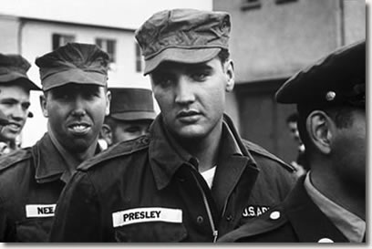 Elvis Presley In The U.S. Army 1958-1959