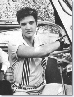 Elvis Presley in the BMW Isetta