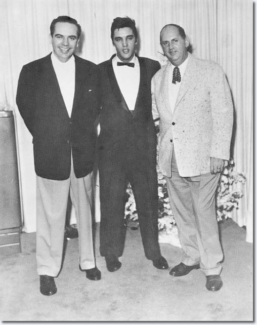 Governor of Tennessee- Frank G. Clement ,Elvis and Colonel Parker.