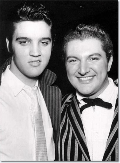 Elvis Presley and Liberace - April 1956