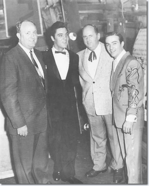 Nashville booking Agent, Hubert Long : Elvis Presley : Colonel Parker : Faron Young