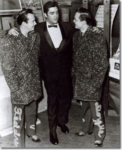 The Wilburn Brothers : Teddy Wilburn, Elvis, Doyle Wilburn.