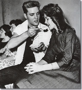 Elvis and Priscilla in Germany