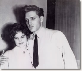 Priscilla 14 years old - With Elvis in Germany