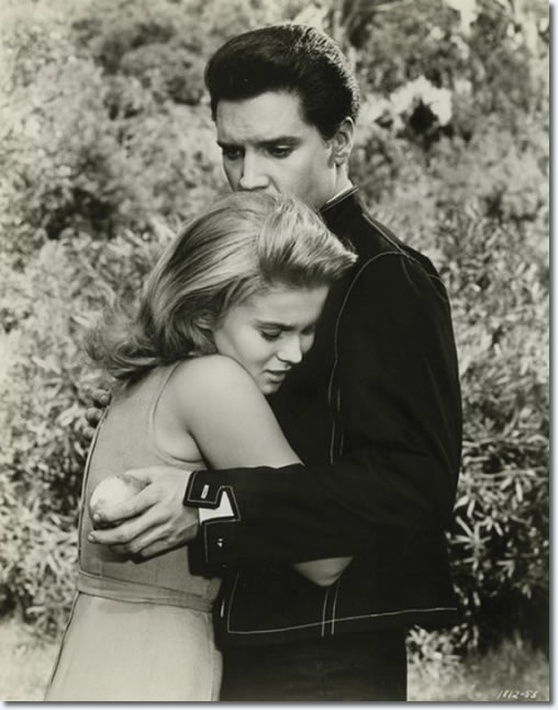 Ann-Margret and Elvis Presle