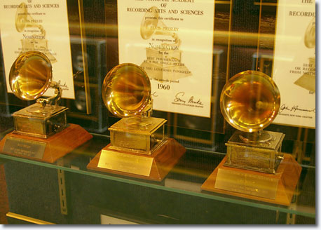 Elvis won three Grammy Awards for, surprisingly, his gospel music / Scott Jenkins
