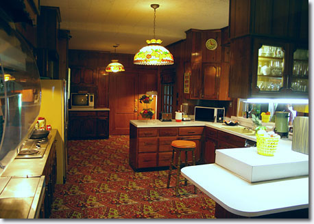 Graceland's kitchen was manned 24/7 when the King was in residence / Scott Jenkins