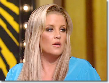"Lisa Marie Presley on Oprah - Of all the songs in Elvis Presley's repertoire, Lisa Marie says the meaningful lyrics of ""In the Ghetto"" made this song jump out at her the most."