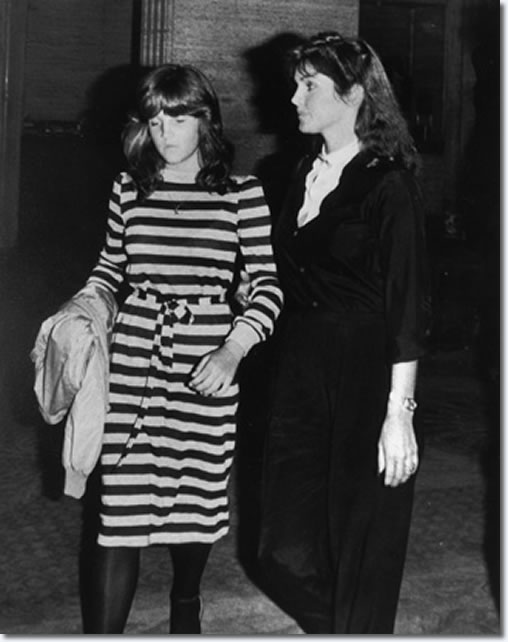 "Here Lisa Marie and her mom were photographed in February of 1986. Lisa Marie had just turned 18. People magazine called Lisa Marie ""the most carefully secluded of all celebrity children."" During her late teens, Lisa Marie went through a drug phase -- abusing sedatives, marijuana and cocaine. She said she gave up the substance abuse after she embraced Scientology."
