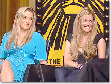 Lisa Marie Presley & Riley Keough on Oprah Winfrey Show.