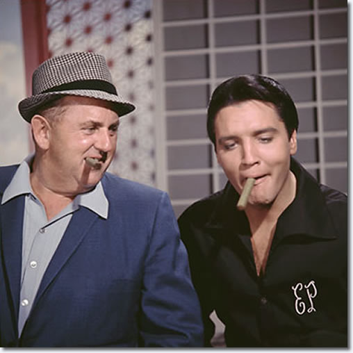 Colonel Tom Parker and Elvis Presley