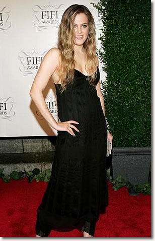 New York - April 03 : Model Riley Keough arrives at the Fragrance Foundation's 34th Annual FIFI Awards at the Hammerstein Ballroom April 3, 2006 in New York City.