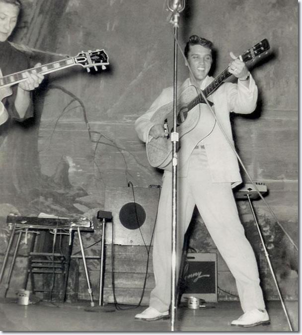 Elvis Presley, August 13, 1955, Louisiana Hayride in Shreveport