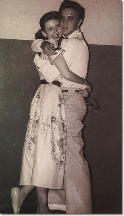 Elvis Presley & Jan Edwards - October 18, 1955