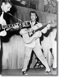 Elvis Presley July 31, 1955