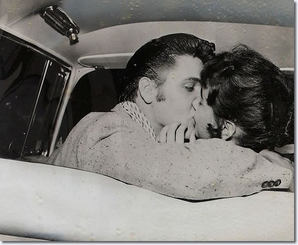 Elvis Presley and Barbara Hearn : June 19, 1956 : Fairgrounds Amusement Park, Memphis