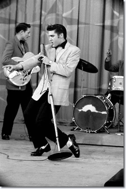 Elvis Presley Hound Dog Ed Sullivan Show