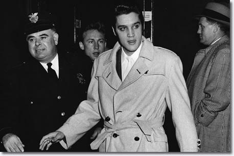 Elvis Presley Cleveland Arena Ohio November 23 1956