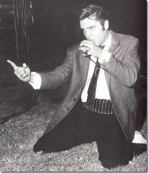 Elvis Presley Cotton Bowl Dallas October 11 1956