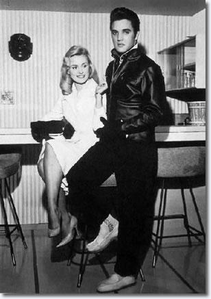 Elvis Presley Hannerl Melcher December 1957