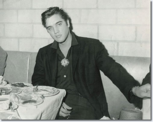Elvis Presley : September 12, 1957 : Little Shamrock Cafe, Cleveland.