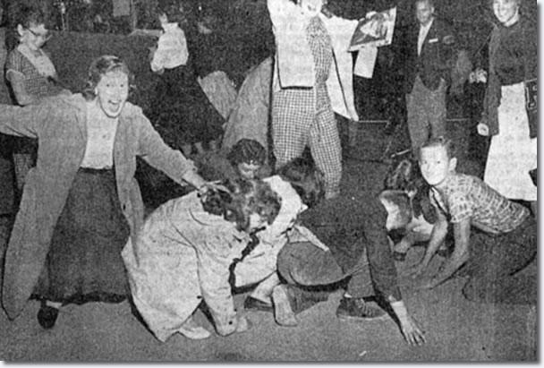 elvis presley multnomah civic stadium portland or september 2 1957
