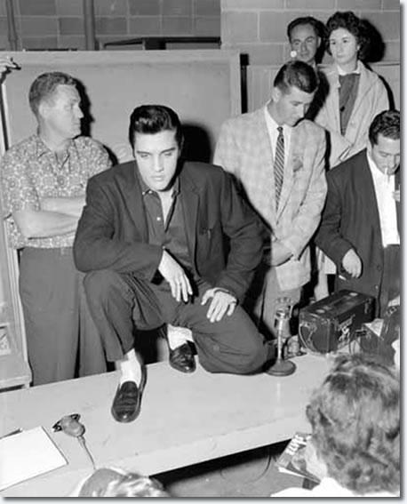 Elvis Presley Vancouver, Canada. Empire Stadium August 31, 1957