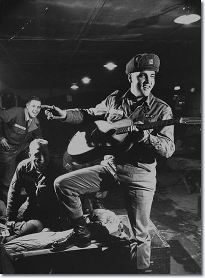 Elvis Presley: Grafenwoehr November 28, 1958