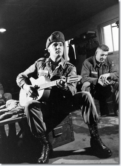 Elvis Presley Grafenwoehr Germany November 28 1958