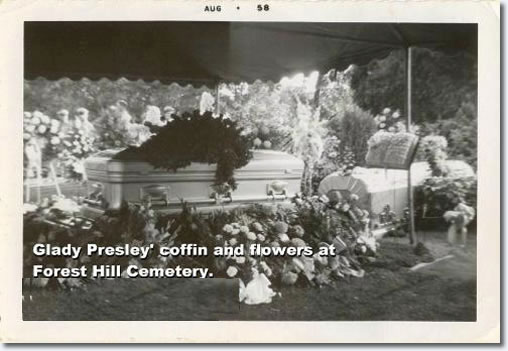Resultado de imagem para gladys presley death