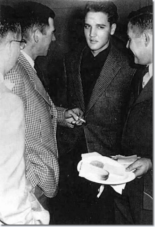 Christmas 1959: Elvis Presley December 25, 1959, in the Army, Germany
