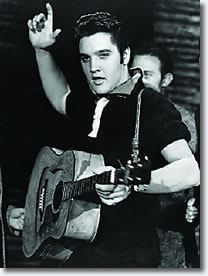 Elvis on the Ed Sullivan Show