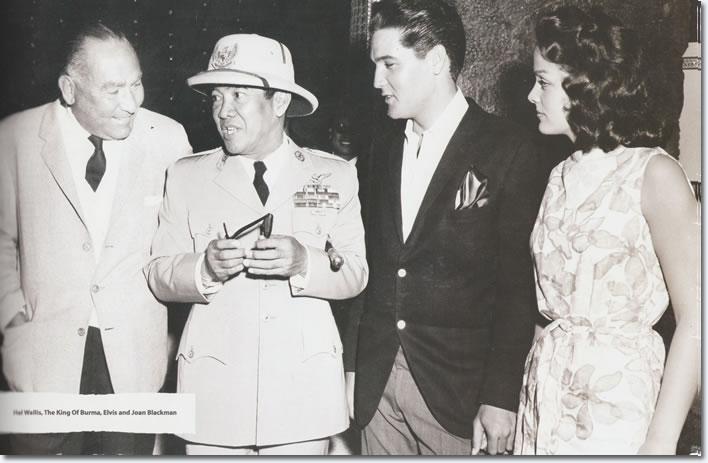 Elvis Presley With Indonesia S First President Kusno Soekarno