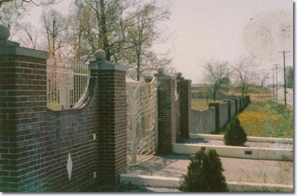 Graceland Gates - April, 1962