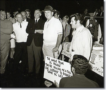 Colonel Tom Parker's Birthday on the Set of the '68 Special