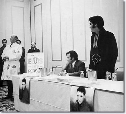 Photos Elvis Presley Press Conference Las Vegas August