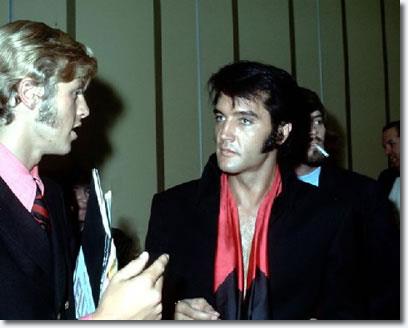 Elvis Australia club member, Ian A. Fraser-Thomson meets Elvis Presley