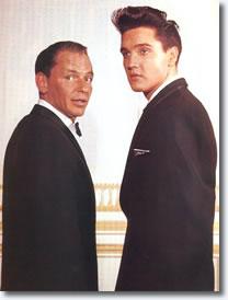 Frank Sinatra & Elvis Presley 1960