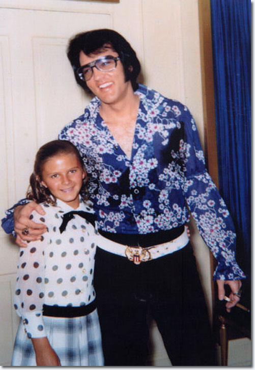 Elvis In The Foyer Of Graceland On September 23 1970