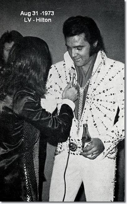 Elvis Presley The Kings Court Fan Club August 31 1973