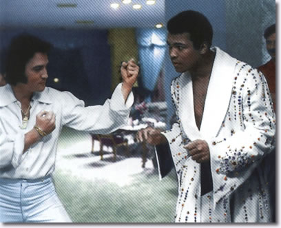 Elvis Presley and Muhammad Ali - February 14, 1973