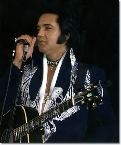Elvis Presley at Scope Cultural Convention Centre, Norfolk, Va july 20, 1975