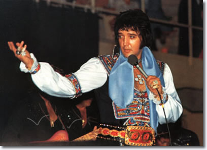 Elvis Presley Asheville Civic Center, Asheville, Nc July 3, 1975