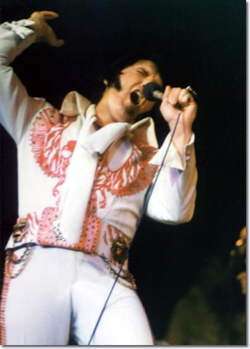 Elvis Presley Las Vegas December 11 1976