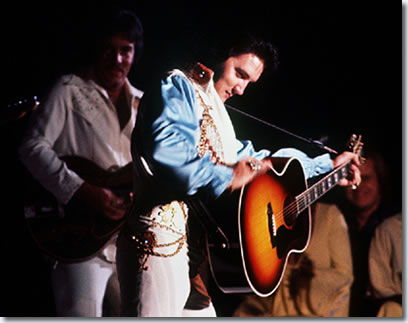 Elvis Presley - Midsouth Coliseum, Memphis, Tn July 5, 1976 - Last show in Memphis