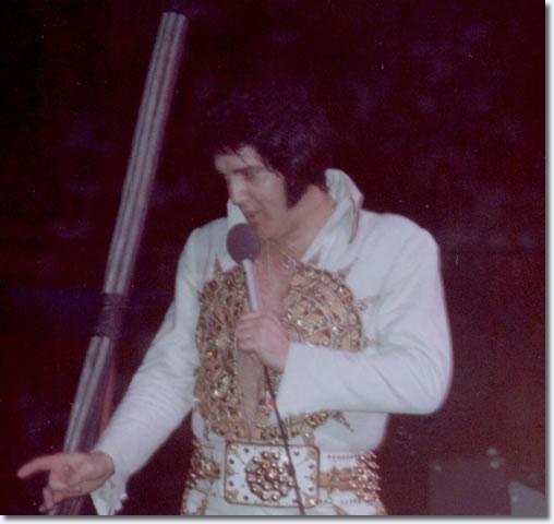 Elvis Presley June 26 1977 8 30pm Market Square Arena