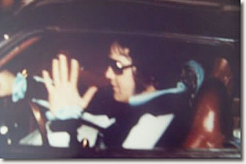 The last known photo of Elvis Presley - August 16, 1977