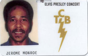 Jerome 'Stump' Munroe ID Card.