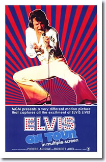 Elvis On Tour 1972 Poster