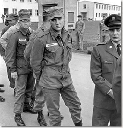Photos - Elvis Presley In The U S  Army 1958-1959